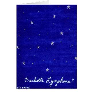Burkitt's Lymphoma card