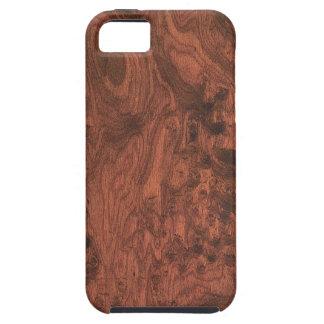 Burl Mahogany Wood Texture iPhone 5 Case