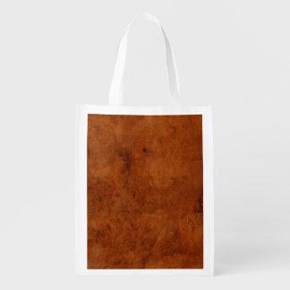 BURL OAK REUSABLE GROCERY BAG