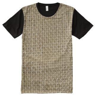 Burlap All-Over-Print T-Shirt