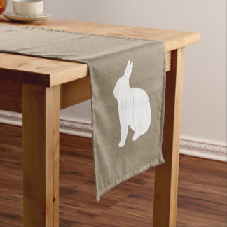 Burlap Bunny Table Runner