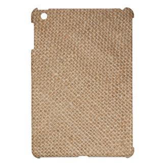 Burlap iPad Mini Cover