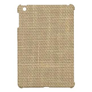 Burlap iPad Mini Covers