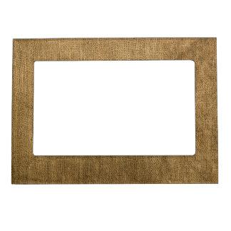 Burlap Magnetic Frame