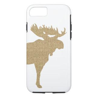 Burlap Moose iPhone 7 Case