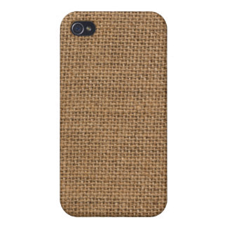 Burlap sack texture iPhone case Case For iPhone 4