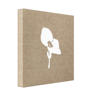 Burlap Seedling Canvas