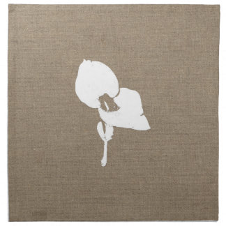 Burlap Seedling Cloth Napkins