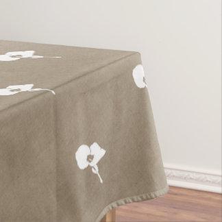 Burlap Seedling Tablecloth
