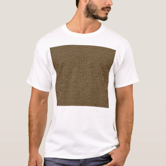 Burlap Texture Background T-Shirt