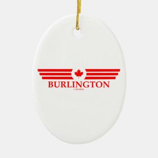 BURLINGTON CERAMIC ORNAMENT