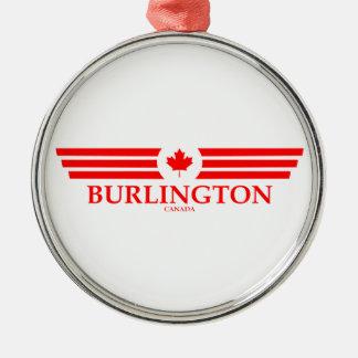 BURLINGTON METAL ORNAMENT