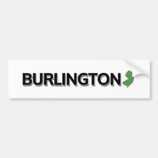 Burlington, New Jersey Bumper Sticker