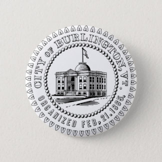 Burlington Proud Button