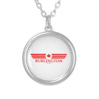 BURLINGTON SILVER PLATED NECKLACE
