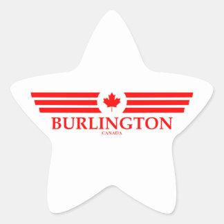 BURLINGTON STAR STICKER