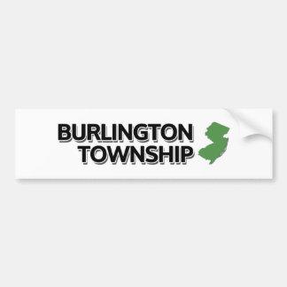 Burlington Township, New Jersey Bumper Sticker