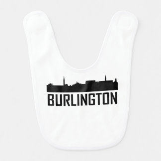 Burlington Vermont City Skyline Bib
