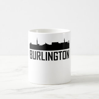 Burlington Vermont City Skyline Coffee Mug