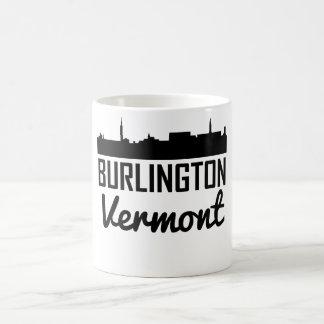 Burlington Vermont Skyline Coffee Mug