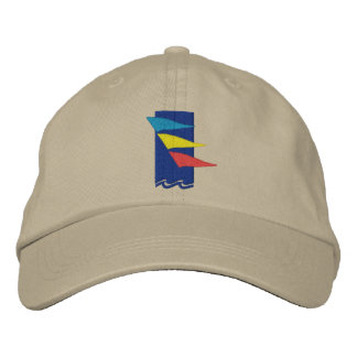 Burlington Yacht Club Hat Embroidered Hats