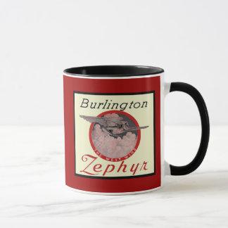 Burlington Zephyr Train Mug