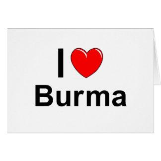 Burma Card