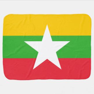 Burma Flag Baby Blanket