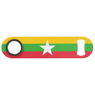 Burma Flag Bar Key