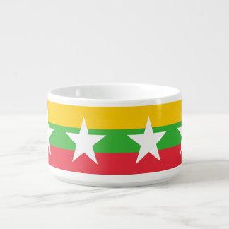 Burma Flag Bowl