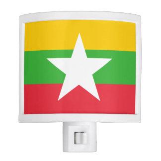 Burma Flag Nite Lights