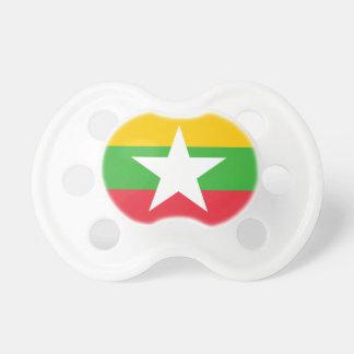 Burma Flag Pacifier