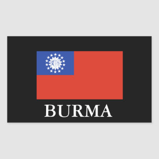 BURMA (Flag) Sticker1 Sticker