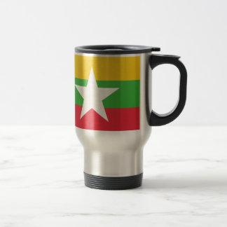 Burma Flag Travel Mug