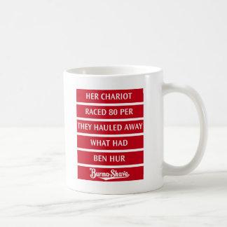 Burma-Shave Jingle 2 Coffee Mug