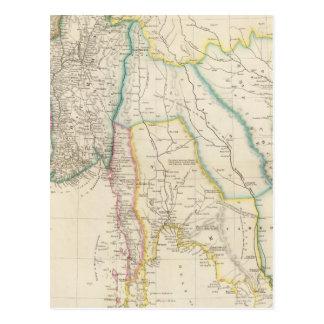 Burmah, Siam, and Cochin China Postcard