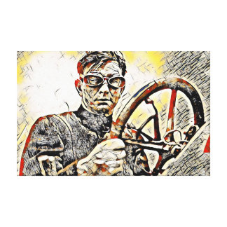 Burman Canvas Print