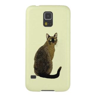 Burmese Cat Galaxy S5 Case
