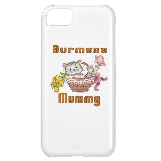Burmese Cat Mom iPhone 5C Case