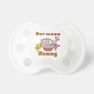 Burmese Cat Mom Pacifier