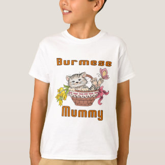 Burmese Cat Mom T-Shirt