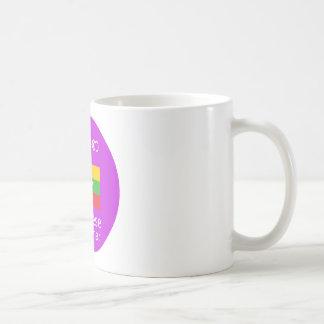 Burmese/Myanmar Language And Flag Design Coffee Mug