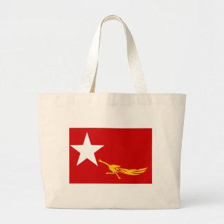 Burmese People Flag Bags