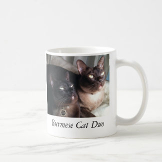 BurmeseDuo_18, Burmese Cat Duo Coffee Mug