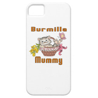 Burmilla Cat Mom iPhone 5 Covers
