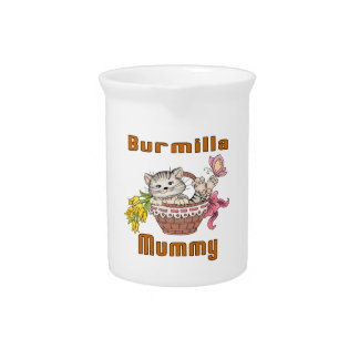 Burmilla Cat Mom Pitcher