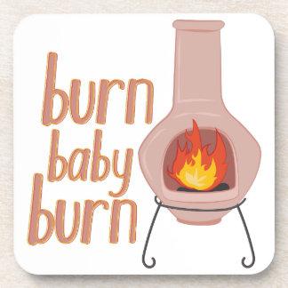 Burn Baby Burn Coasters