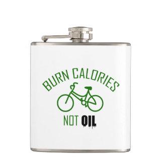Burn Calories Not Oil Hip Flask