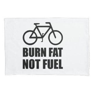 Burn Fat Not Fuel Bike Pillowcase