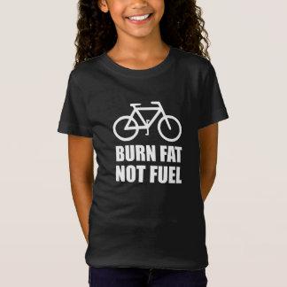 Burn Fat Not Fuel Bike T-Shirt